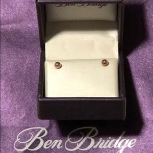 Other - NIB 14K Rose Gold Baby earrings